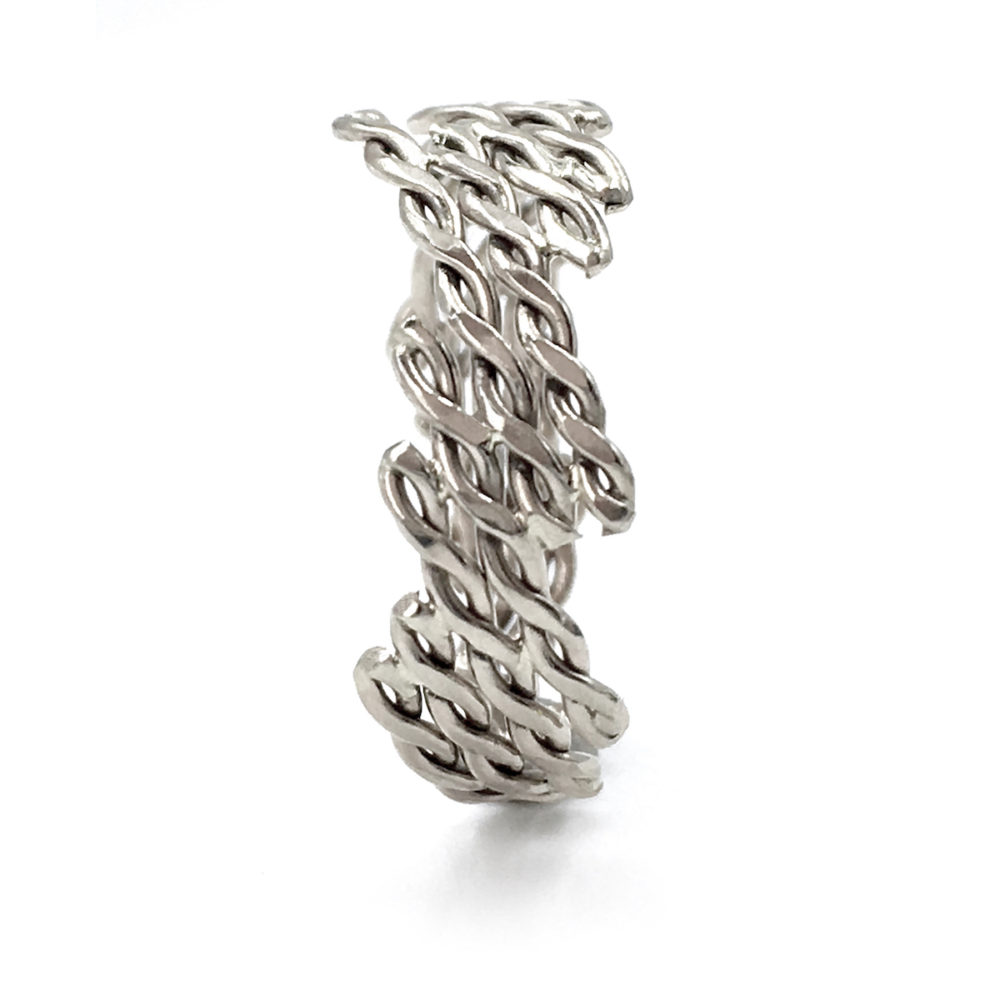 18k-White-Gold-Diagonal-Infinity-Twist-Free-Form-Band-Ring-Jewelyrie