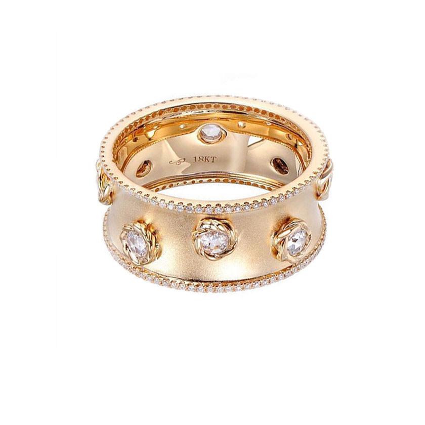 16_H-rose-cut-diamonds-18k-satin-concave-cigar-band-unisex-ring-jewelyrie