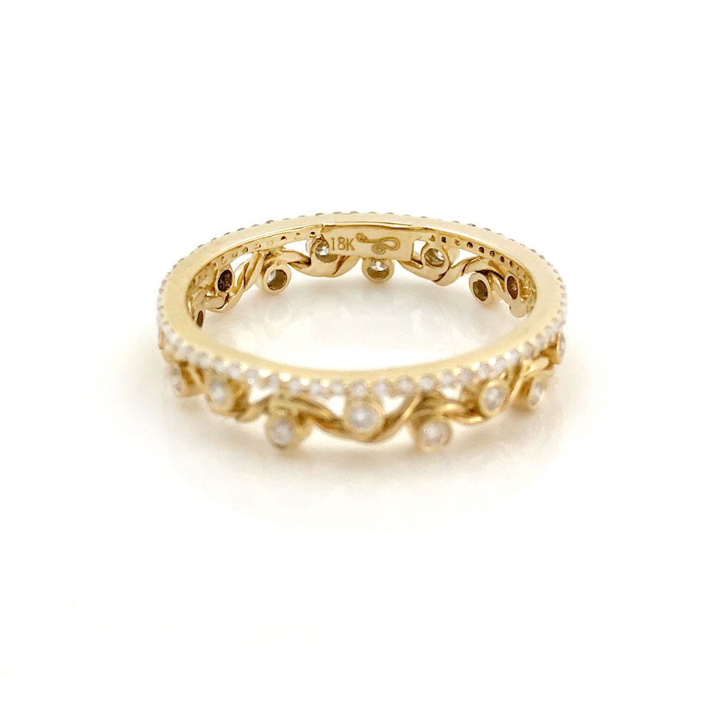 18K-Gold-Diamond-Twist-Wave-Open-Lace-Crown-Stacking-Ring-Jewelyrie-GLIR-06B