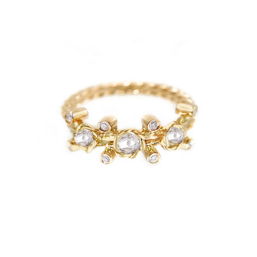 23-Gold-Rose-Cut-Diamond-Twist-Bezel-Set-Three-Diamond-Ring-jewelyrie_6970