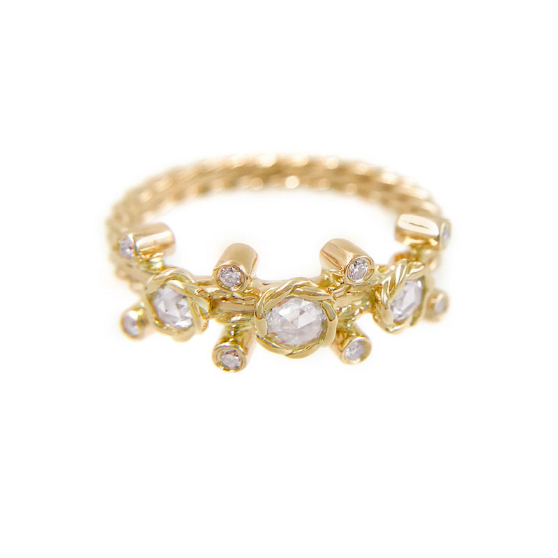 23-Gold-Rose-Cut-Diamond-Twist-Bezel-Set-Three-Diamond-Ring-jewelyrie_6976