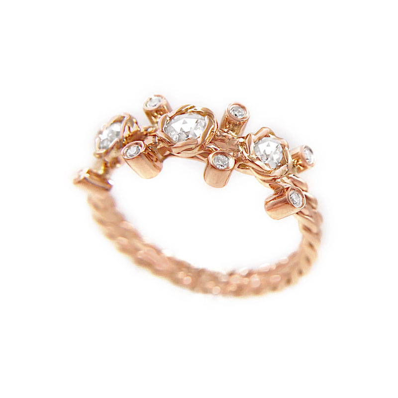 24-Gold-Rose-Cut-Diamond-Twist-Bezel-Set-Three-Diamond-Ring-jewelyrie_6973