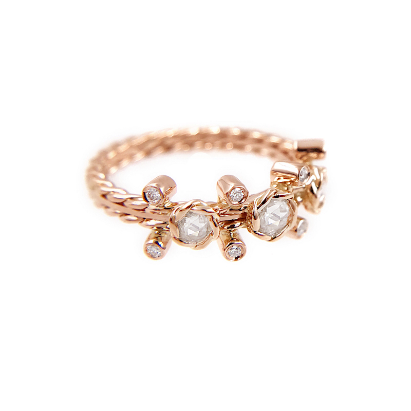 24-Gold-Rose-Cut-Diamond-Twist-Bezel-Set-Three-Diamond-Ring-jewelyrie_6974