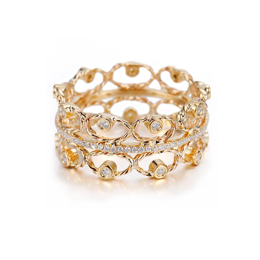 9-Twist-Petal-Diamond-Tip-Open-Lace-Pavé-Line-Wide-Ring-18k-14k-JeweLyrie
