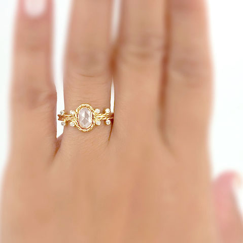 18k-gold-oval-white-rose-cut-diamond-solitaire-engagement-ring