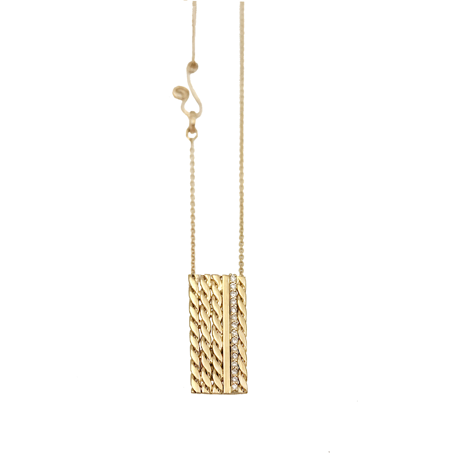 Slim-Pave-Diamond-Line-18k-Twist-Accent-Satin-Slider-Tab-Pendan-Vertical-EFCP-03 copy