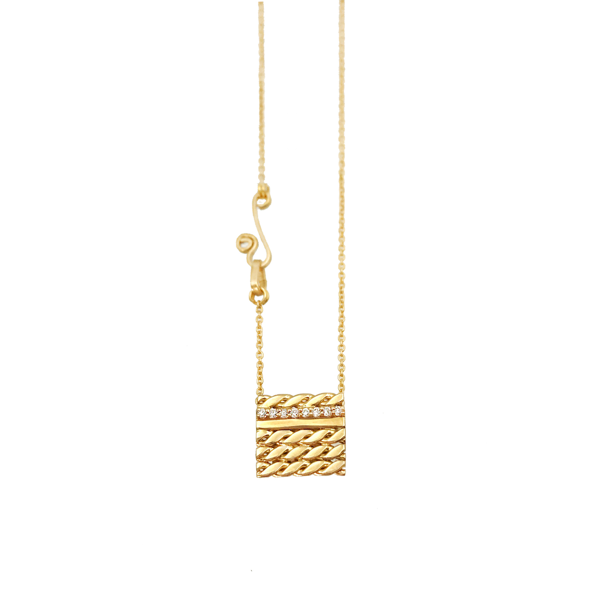 Slim-Pave-Diamond-Line-18k-Twist-Textured-Slider-Square-Tab-Pendant-EFCP-03S-W