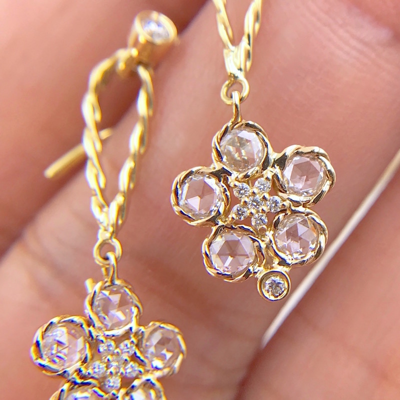 80_3874-JeweLyrie-Rose-Cut-Diamond-Floral-Wavy-Dangle-Detachable-Convertible-Earrings-18k-14k
