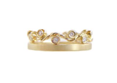 1.44-6mm-wavy-twist-satin-stripe-square-crown-ring-Stacking-14k-18k-jewelyrie