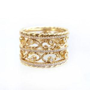 10-Twist-Petal-Diamond-Tip-Open-Lace-Pavé-Line-Wide-Ring-18k-14k-JeweLyrie-9