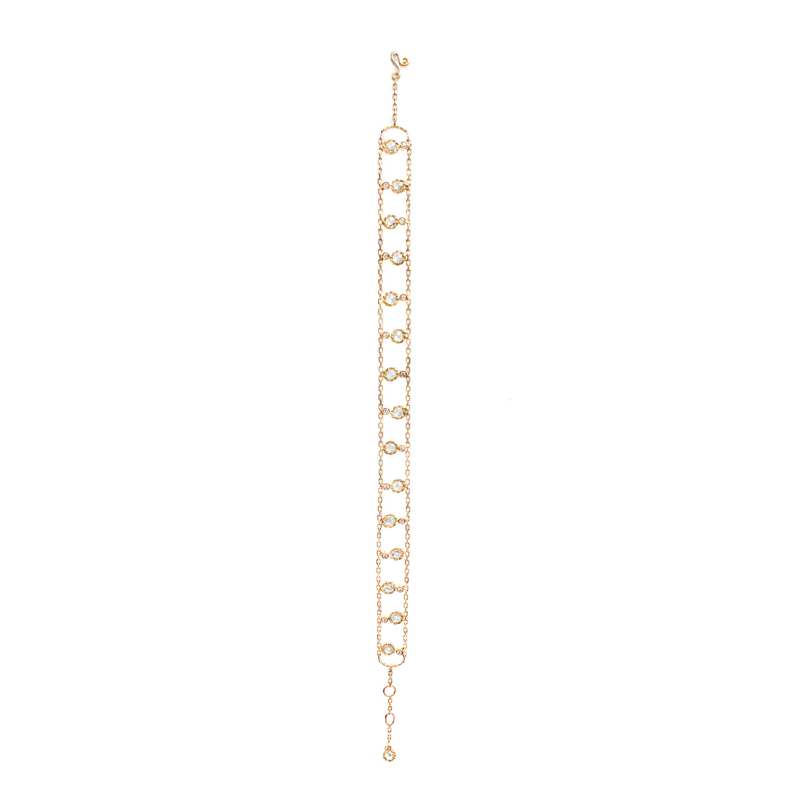 105-Alternate-Twist-Bezel-Rose-Cut-Diamond-Gold-Station-Chain-Bracelet-14k-18k-JeweLyrie-_7692