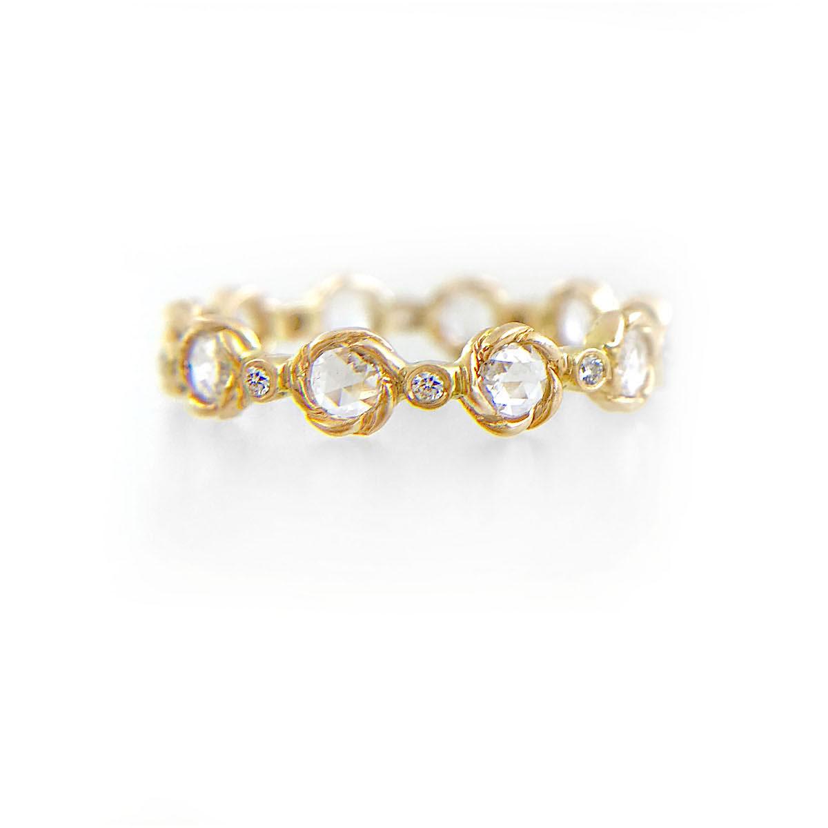 21-Signature-Twist-Bezel-4mm-Rose-Cut-Diamond-Eternity-Gold-Ring-14k-18k-JeweLyrie_3382-1