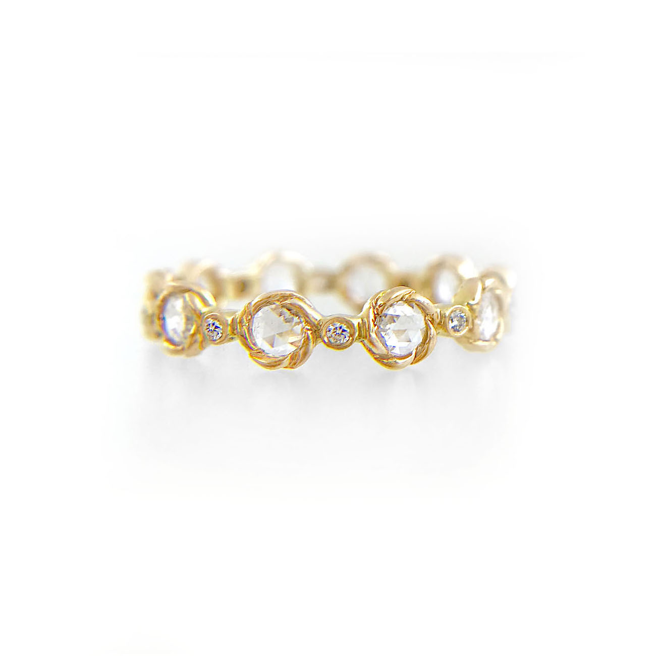 21-Signature-Twist-Bezel-4mm-Rose-Cut-Diamond-Eternity-Gold-Ring-14k-18k-JeweLyrie_3382-1