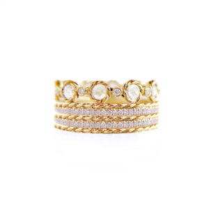 21.50.10.10-Rose-Cut-Diamond-Eternity-Double-Pave-Stripe-Gold-Crown-Ring-14k-18k-jewelyrie