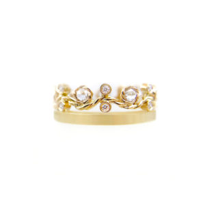 27.44-7mm-Twist-Rose-Cut-Diamond-satin-square-band-crown-Ring-14k-18k-jewelyrie
