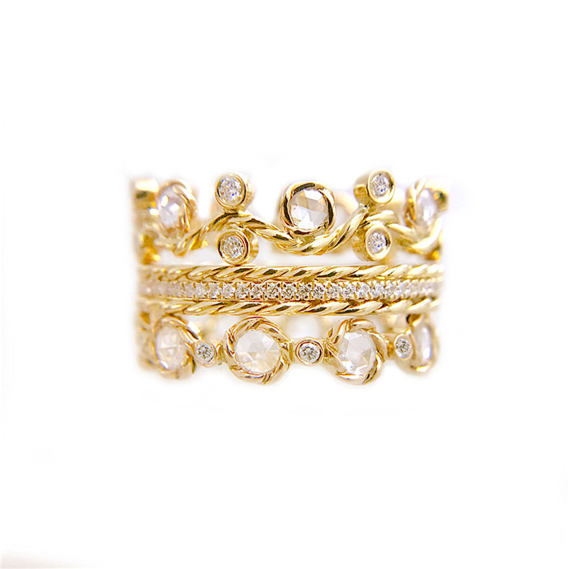 27.61.21-Classy-Rose-Cut-Diamond-Wavy-Twist-Vine-Eternity-Gold-Crown-Ring-stacking-set-14k-18k-jewelyrie_3151-1