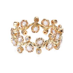 29-Wavy-Twist-Alternate-Rose-Cut-Diamond-Stacking-Eternity-Gold-Ring-14K-18K-JeweLyrie
