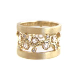 29-Wavy-Twist-Alternate-Rose-Cut-Diamond-Stacking-Eternity-Gold-Ring-14K-18K-JeweLyrie-Bold-Lacy- 53 B