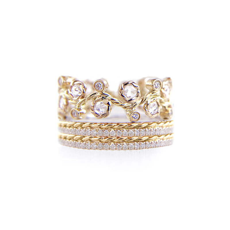 29.10.10.B-Alternate-Rose-Cut-Diamond-Twist-Pave-Stripe-Gold-Crown-Ring-14k-18k-JeweLyrie