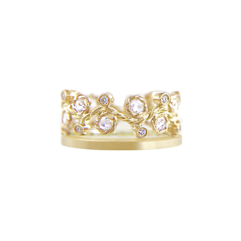 29.42-8mm-alternate-rose-cut-diamond-satin-square-band-crown-ring-stacking-14k-18k-jewelyrie