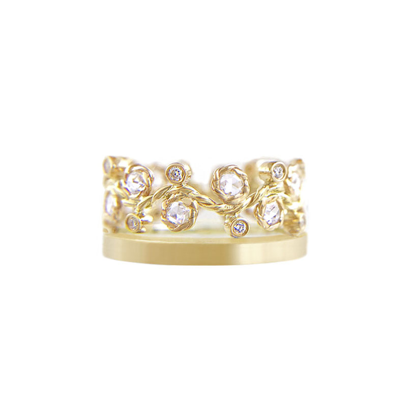 29.44-9mm-alternate-rose-cut-diamond-satin-square-band-crown-ring-stacking-14k-18k-jewelyrie