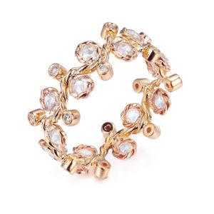 30-Wavy-Twist-Alternate-Rose-Cut-Diamond-Stacking-Eternity-Gold-Ring-14K-18K-JeweLyrie-