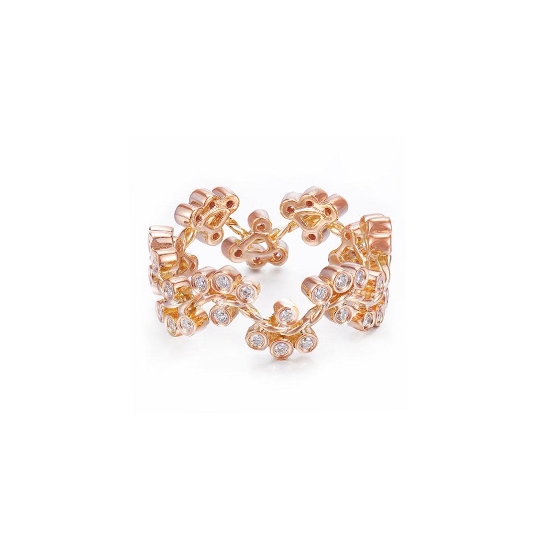 32-JeweLyrie-Signature-Wavy-Twist-Alternate-Diamond-Cluster-Gold-Ring-18k-14k