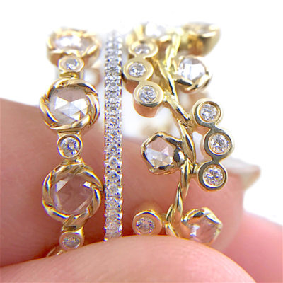 33.57.21-Wavy-twist-rose-cut-diamond-Cluster-Eternity-Three-Ring-Stacking-14k-18k-JeweLyrie_3270