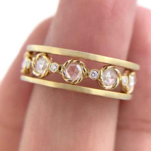 42.21.44-Rose-Cut-Diamond-Twist-Setting-Satin-Band-Ring-Stacking-14k-18k-jewelyrie copy