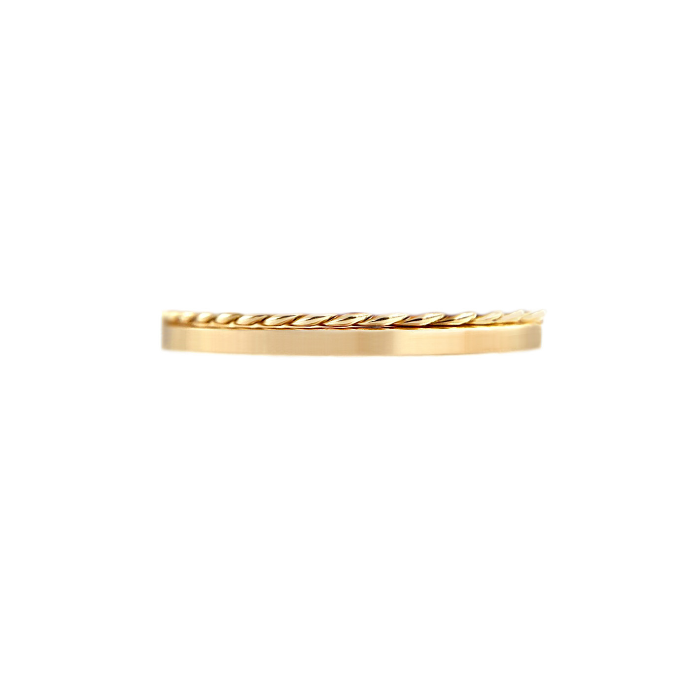 50.42-1.8mm-Slim Twist-Satin-Stripe-Band-Two-Ring-Stacking-14k-18k-jewelyrie_9218