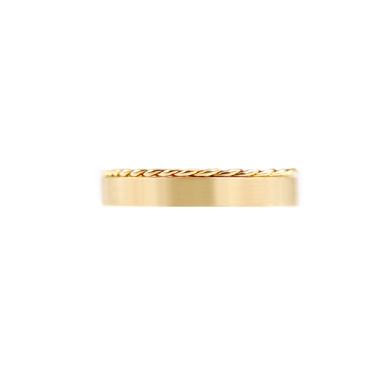 50.53-3.8mm-signature-Slim-Twist-Satin-Square-Band-Two-Ring-Stacking-jewelyrie