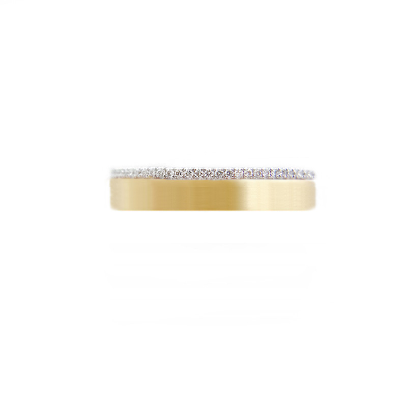 57.53-4mm-Slim-Pave-Diamond-Satin-Square-Band-Two-Ring-Stacking-18k-JeweLyrie_3510