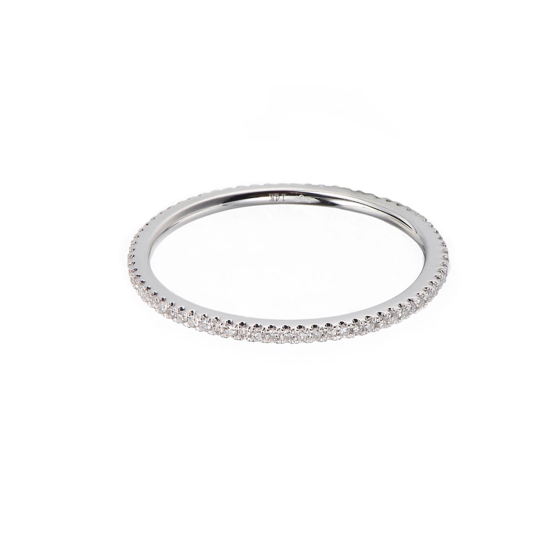 59-Slim-1mm-Micro-Pavé-Diamond-Eternity-Band-Ring-Guard-Spacer-14K-18K-YELLOW-WHITE-ROSE