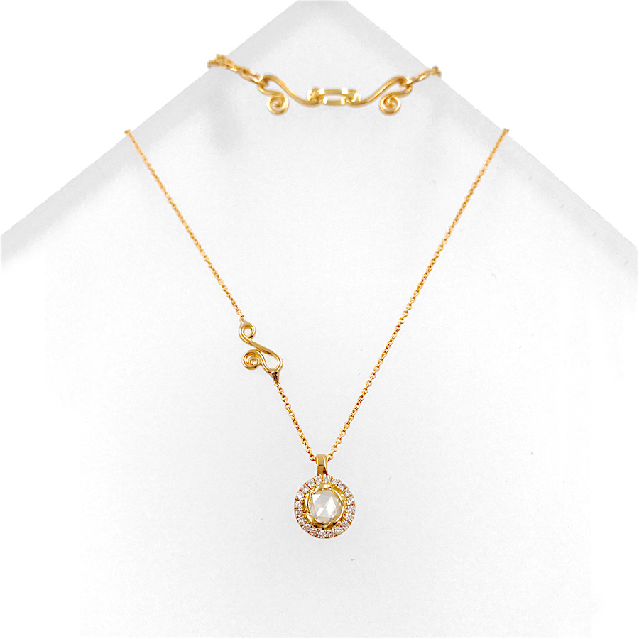 63-Signature-Twist-Bezel-Rose-Cut-Diamond-Drop-Gold-Pendant-Necklace_5273