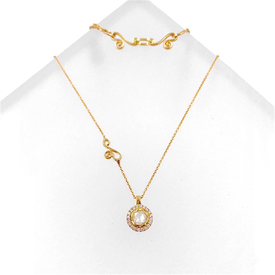 63-Signature-Twist-Bezel-Rose-Cut-Diamond-Drop-Gold-Pendant-Necklace_5273