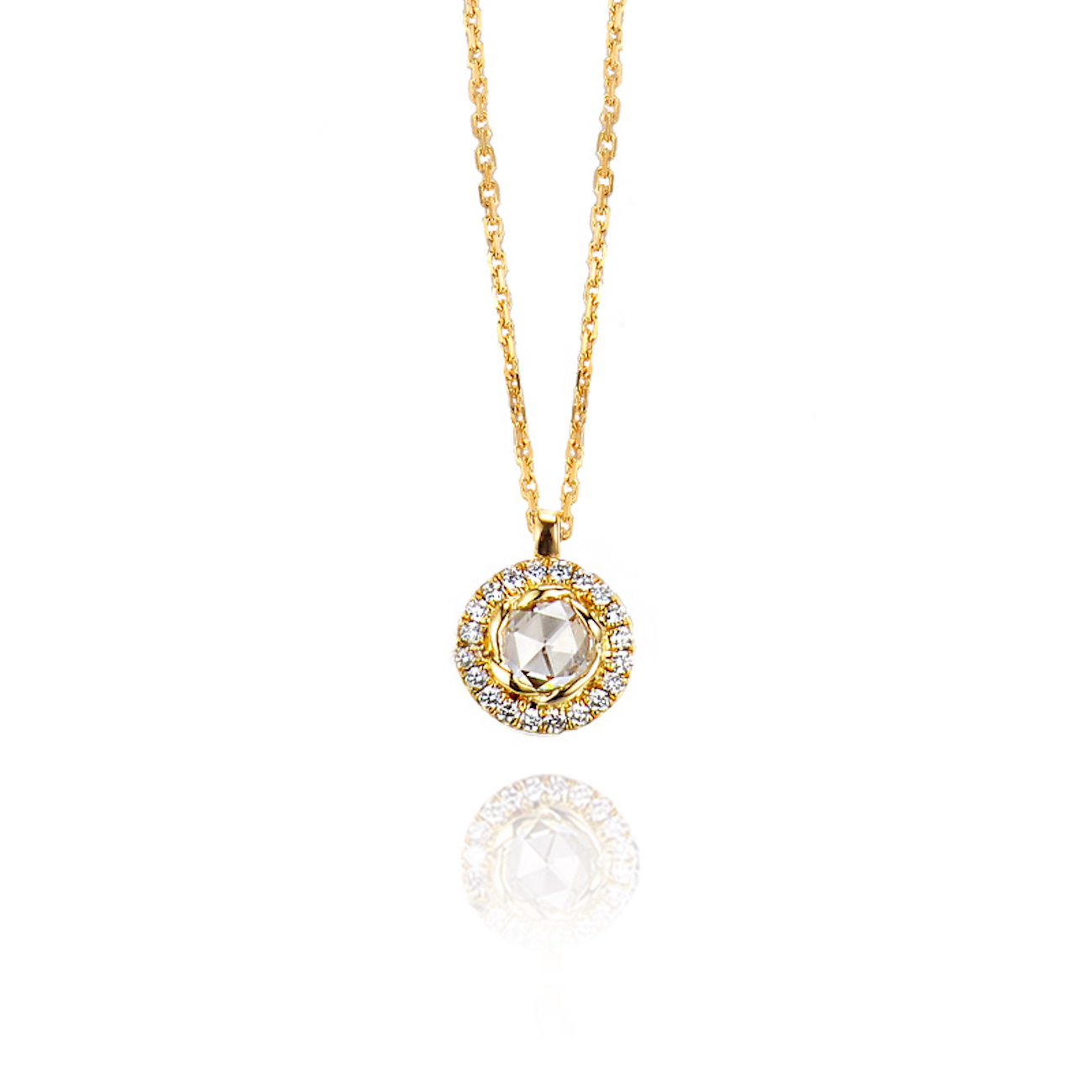 63-Signature-Twist-Bezel-Rose-Cut-Diamond-Drop-Gold-Pendant-Necklace_ALGP-01-B