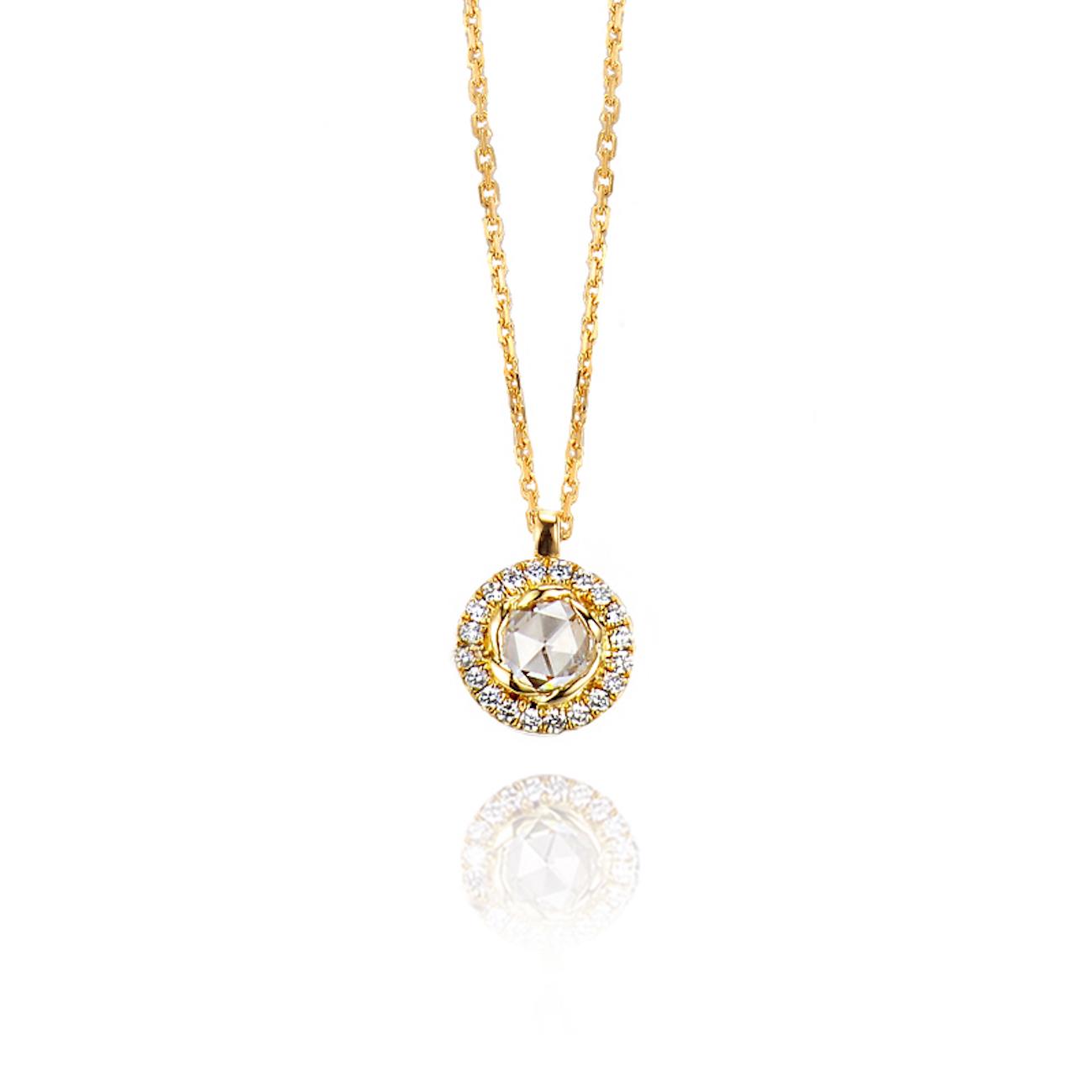 63-Signature-Twist-Bezel-Rose-Cut-Diamond-Drop-Gold-Pendant-Necklace_ALGP-01-B