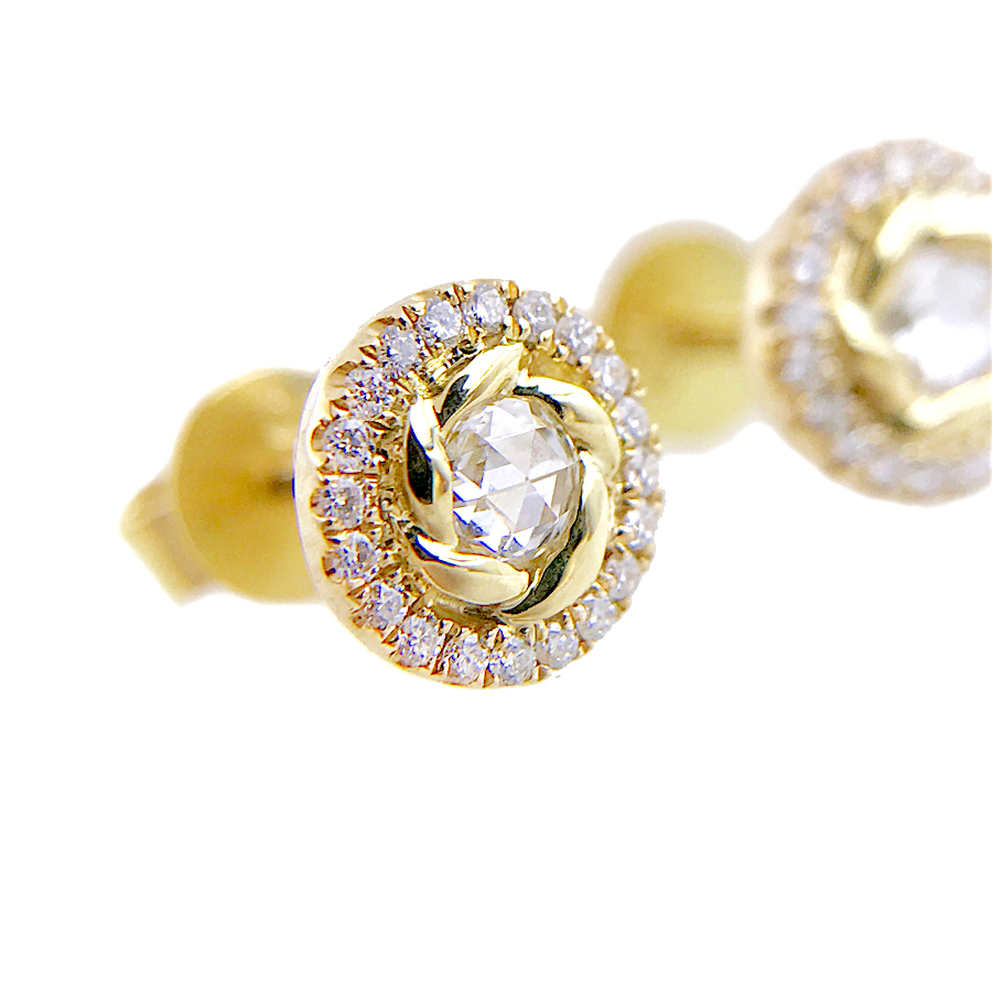 69-Signature-Twist-Bezel-Rose-Cut-Diamond-Halo-Stud-Gold-Earrings_3804