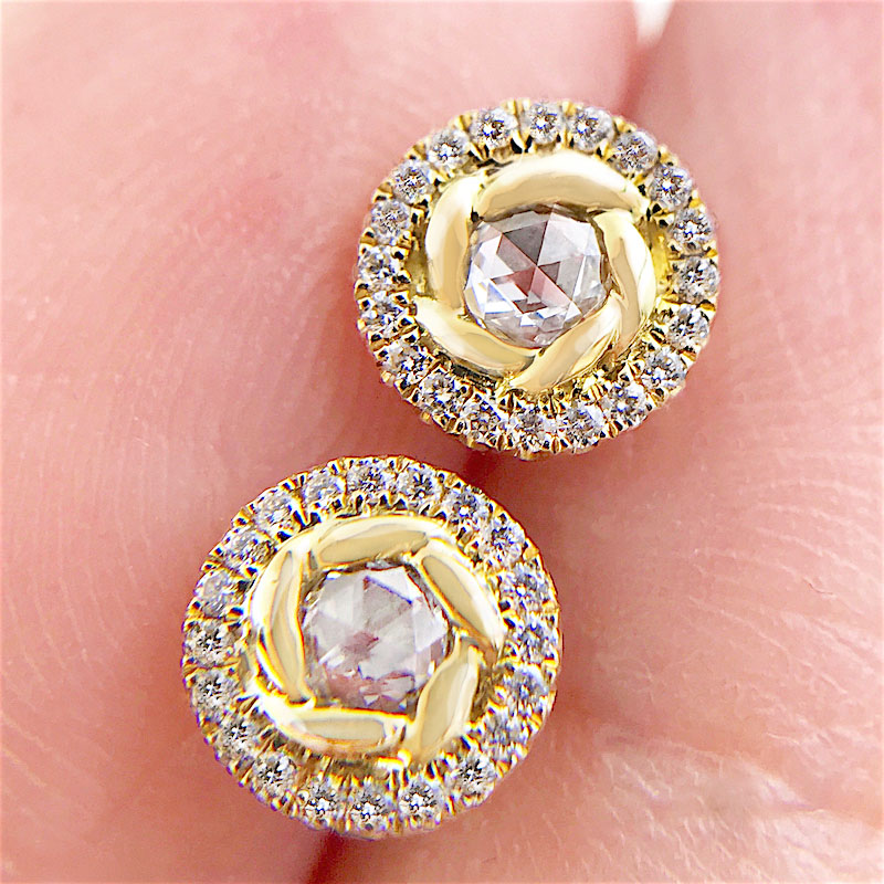 69-Signature-Twist-Bezel-Rose-Cut-Diamond-Halo-Stud-Gold-Earrings_3924
