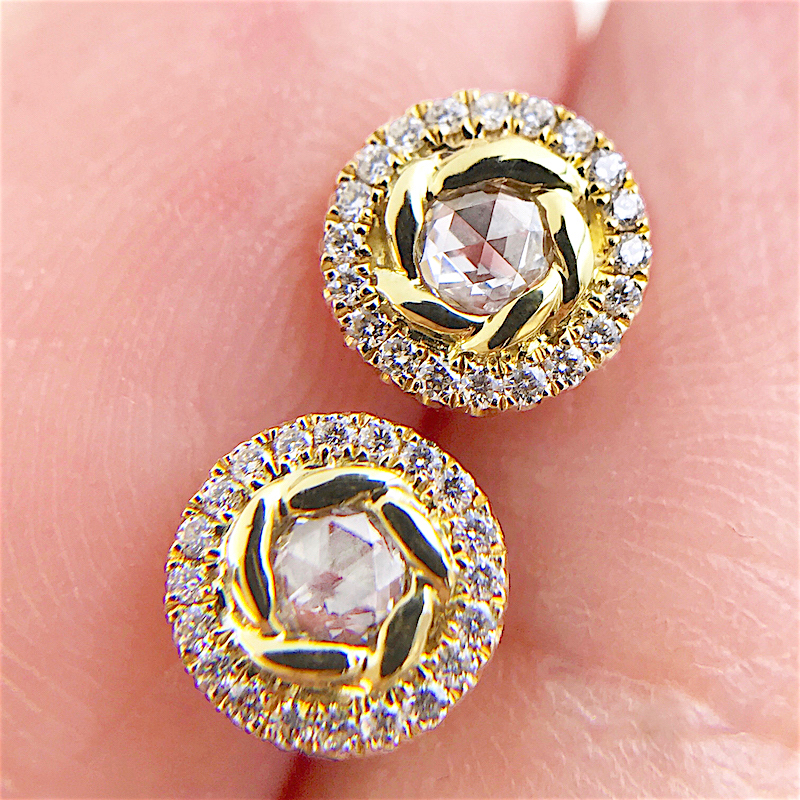 69-Signature-Twist-Bezel-Rose-Cut-Diamond-Halo-Stud-Gold-Earrings_3924
