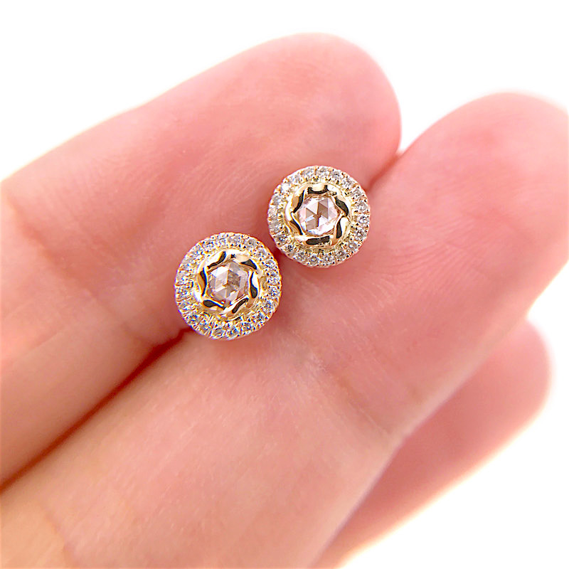 69-Signature-Twist-Bezel-Rose-Cut-Diamond-Halo-Stud-Gold-Earrings_7484