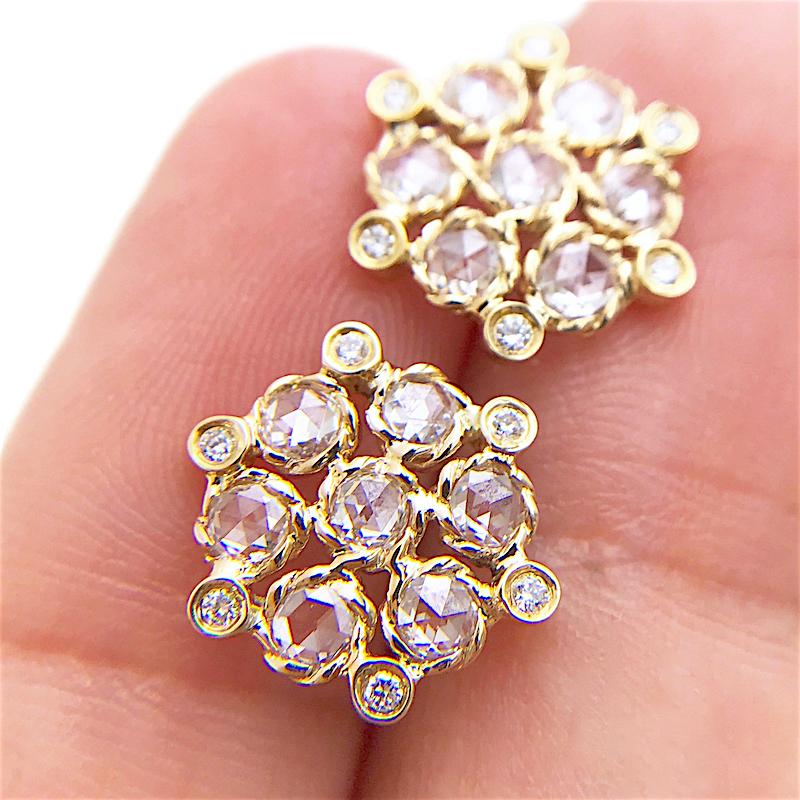 71-Signature-Twist-Bezel-Rose-Cut-Diamond-Bouquet-Stud-Gold-Earrings_3847