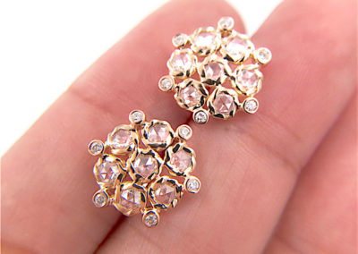 71-Signature-Twist-Bezel-Rose-Cut-Diamond-Bouquet-Stud-Gold-Earrings_6494