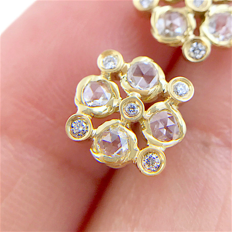 72-Signature-Twist-Bezel-Rose-Cut-Diamond-Checker-Stud-Gold-Earrings_3823