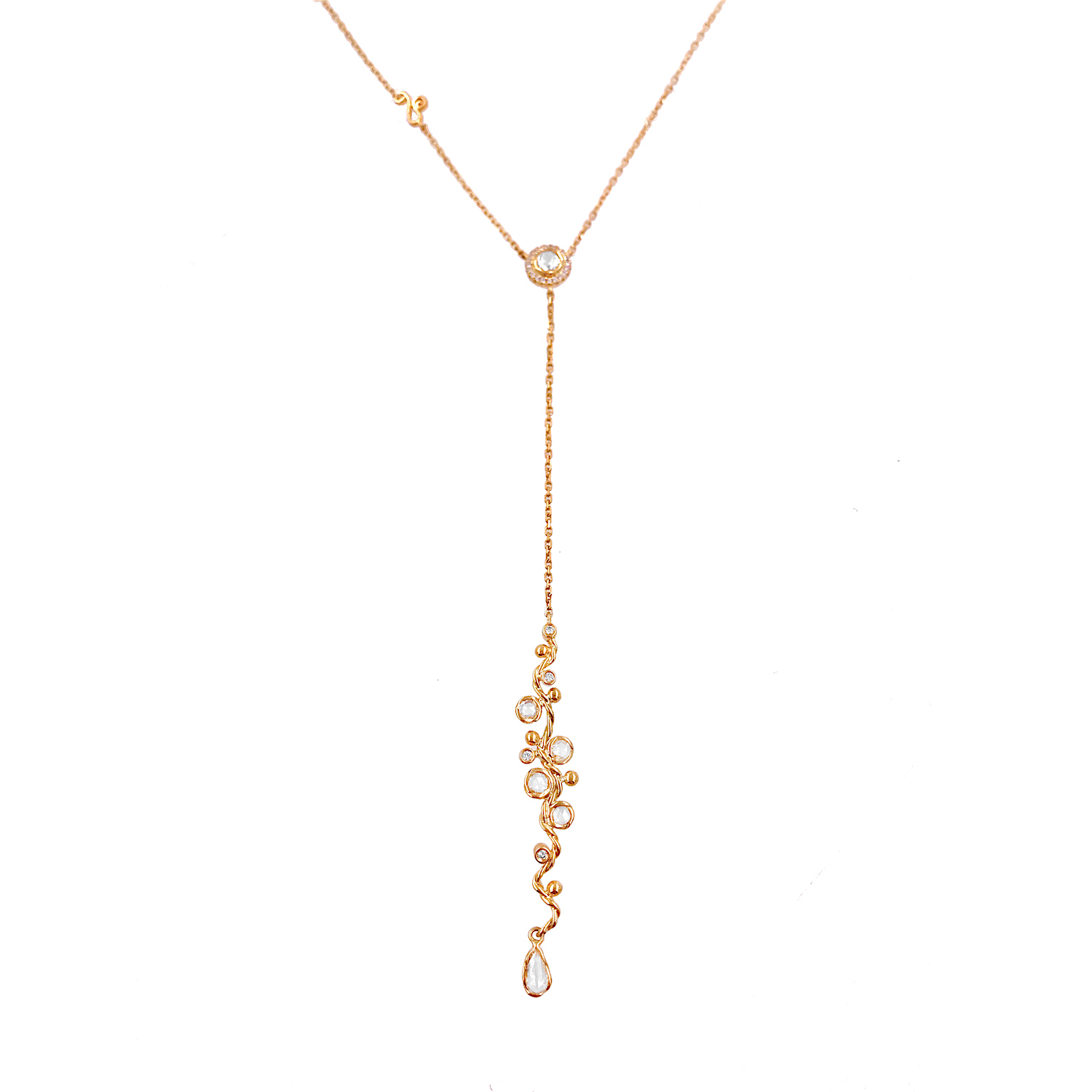 74-Signature-Free-Hand-Wavy-Twist-Scattered-Rose-Cut-Diamond-Lariat-Y-Necklace_5362S
