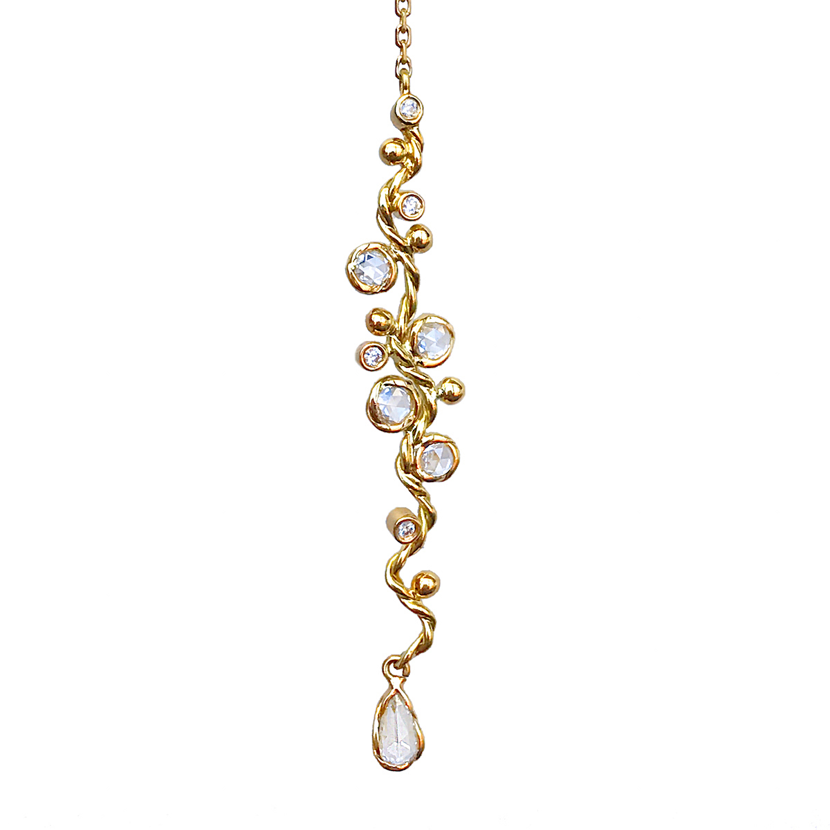 74-Signature-Free-Hand-Wavy-Twist-Scattered-Rose-Cut-Diamond-Lariat-Y-Necklace_5669