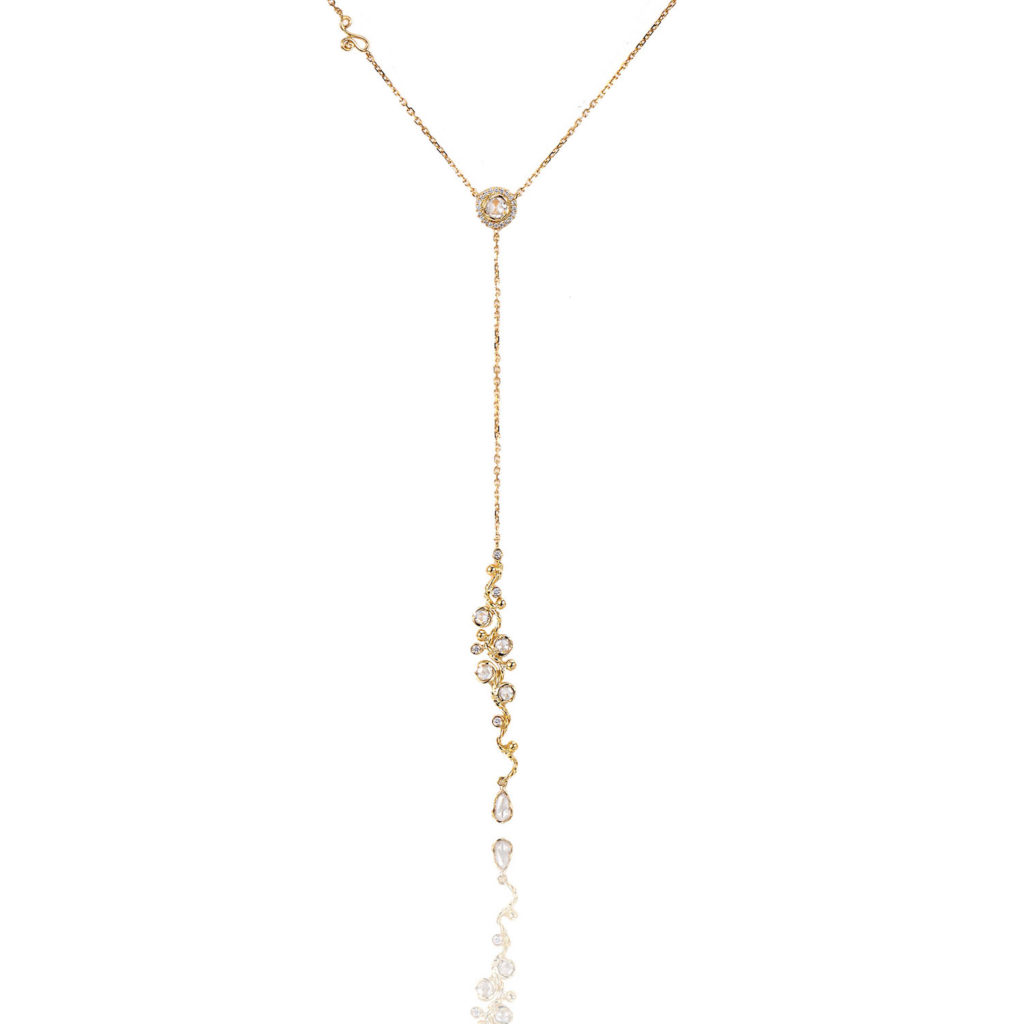 74-Signature-Free-Hand-Wavy-Twist-Scattered-Rose-Cut-Diamond-Lariat-Y-Necklace_ALGY-04R