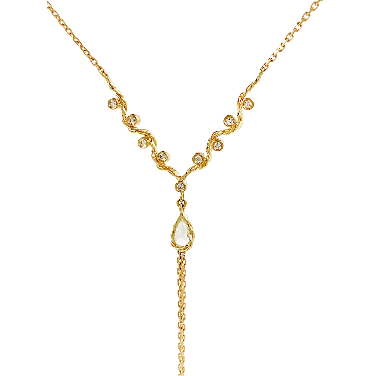 product curb number webstore h necklace gold samuel chain twist d