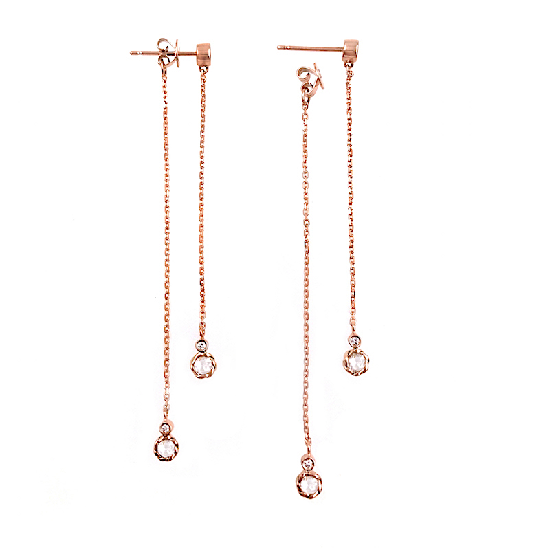 86-18k-14k-rose-cut-diamond-twist-set-front-back-double-dangle-earrings_6959R