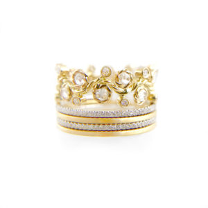 AM5-29-57-42-Orchard-Rose-Cut-Diamond-Strip-Base-Crown-Gold-Ring-Stacking-Set-14k-18k_3041